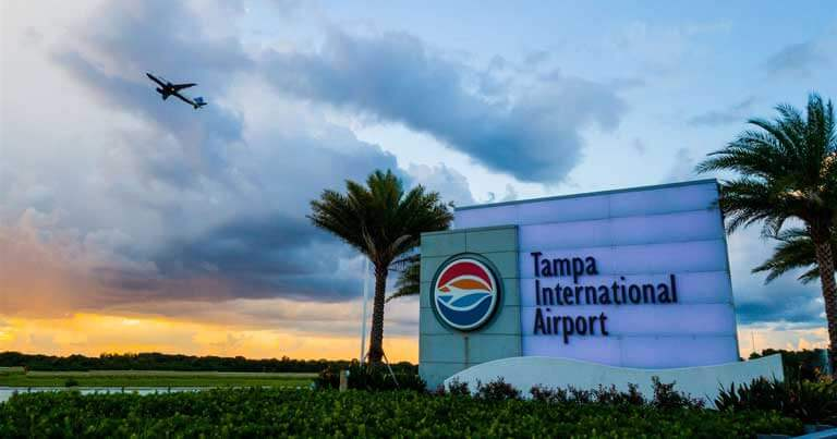 Empact solutions Tampa International AirPort Display Project